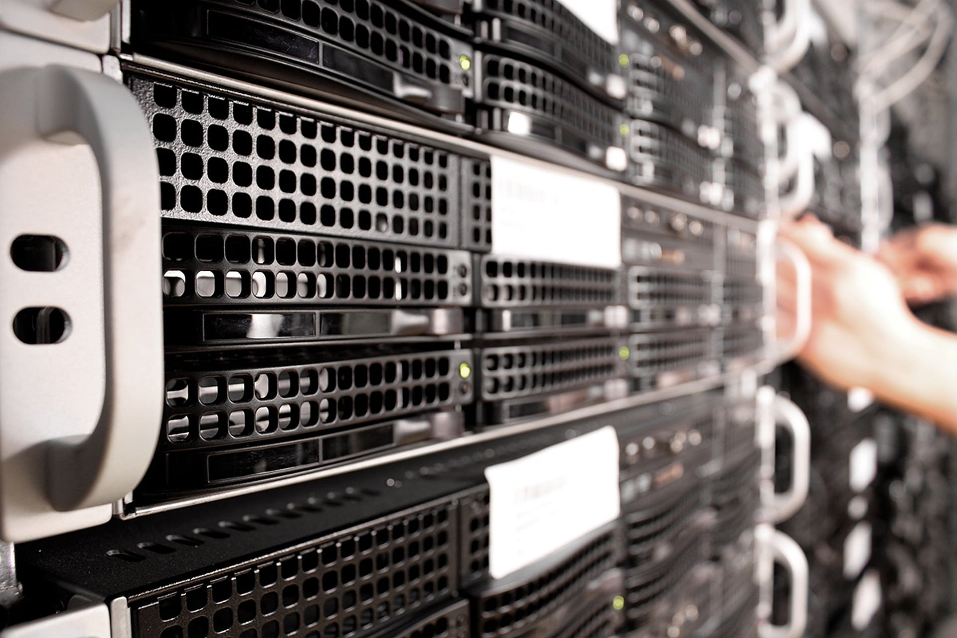 Server Startseite